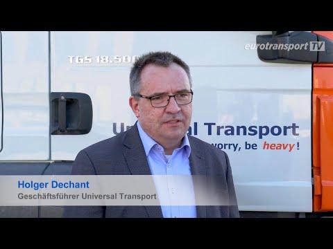 "eurotransport TV - Reportage: ""Versorgung der Versorger"""