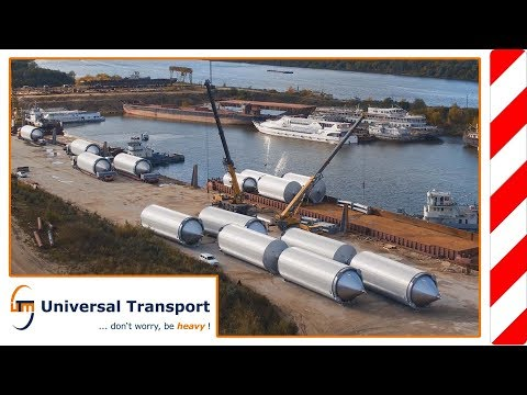 Universal Transport - At Night over the Water