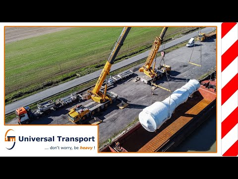 Precision work on land and water - Universal Transport