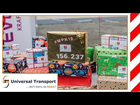Universal Transport - Weihnachtspäckchenkonvoi 2018