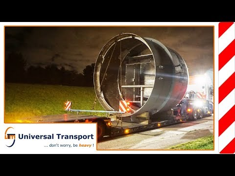 Universal Transport - Through the countrysite with a height of 5.1m