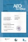 Universal Transport AEO-Zertifikat