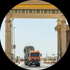 Projektmanagement für die Transportdurchführung