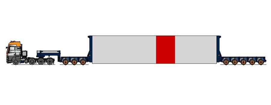 samozaładowcza naczepa typu adapter